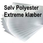 Sølv Polyester Extreme klæber