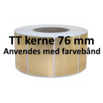 Guld Papir Labels TT Kerne 76