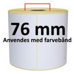 Hvid TT Kerne 76mm