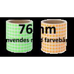 Runde ø8mm papir labels