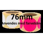Rune ø75mm papir labels