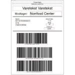 Vi printer palle Labels