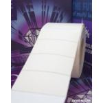 Hvid Polyester på ruller