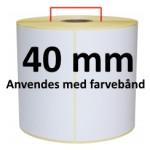 Hvid TT Kerne 40mm