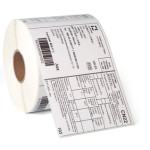 Polyester / Karton tags på rulle