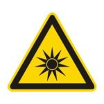 Advarsel: Optisk stråling