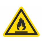 Advarsel: Brændbare stoffer