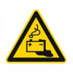 Advarsel: Batteri lækage