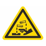 Advarsel: Ætsende stoffer
