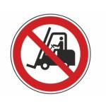 Forbudt: Gaffeltruck og industri køretøjer