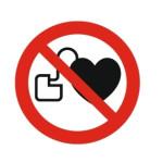 Forbudt: Personer med pacemaker