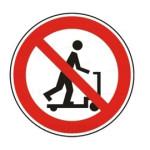 Forbudt: Scooter og løbehjul kørsel