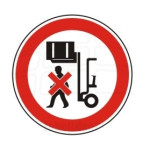 Forbudt: Ophold under ophævet last