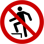 Forbudt: Opstigning