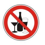 Forbudt: Alkohol