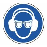 Påbud: Øjne og øre beskyttelse