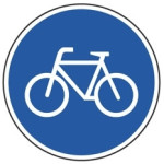 Påbud: Brug cykelstien
