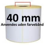 Hvid DT Kerne 40mm