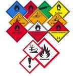 Farligt materiale / GHS etiketter