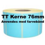 Blå Papir Labels TT 76