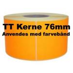 Orange Papir Labels TT 76
