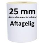 Aftagelige Labels DT kerne 25