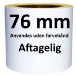 Aftagelige Labels DT kerne 76