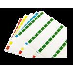 Kabelmærker A4 Grøn